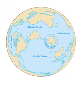 The Major Ocean Currents Of The World Earth How