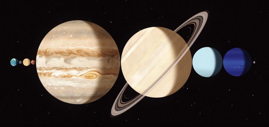 earth to moon distance planets