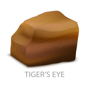 Tiger's Eye Metamorphic Rock