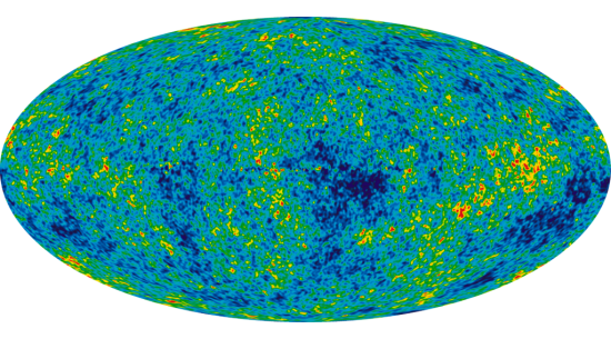 Cosmic Microwave Background Map