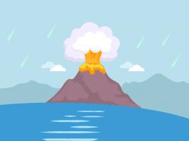 First Water - Origin of Water Volcanoes or Comets