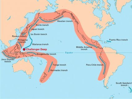 Pacific Ring of Fire: Volcanoes, Earthquakes and Plate Tectonics