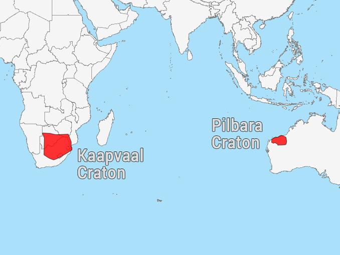 Vaalbara First Continent
