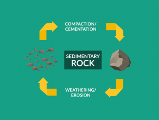 SEDIMENTARY ROCKS: Compaction and Cementation of Sediments