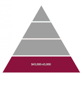 Environmental Science Salary  Low Payscale Salary Pyramid