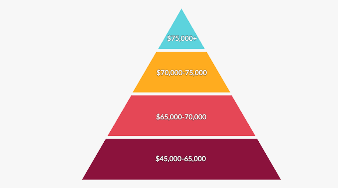 Environmental Science Salary Pyramid