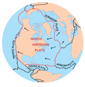 North American Plate Tectonic Boundary