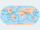 Plate Tectonics Map Major Plates