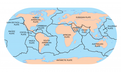 7 major plate tectonics