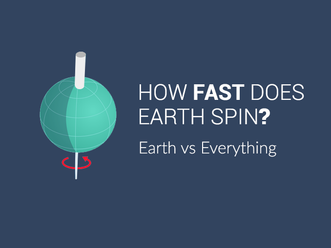 How Fast Does Earth Spin